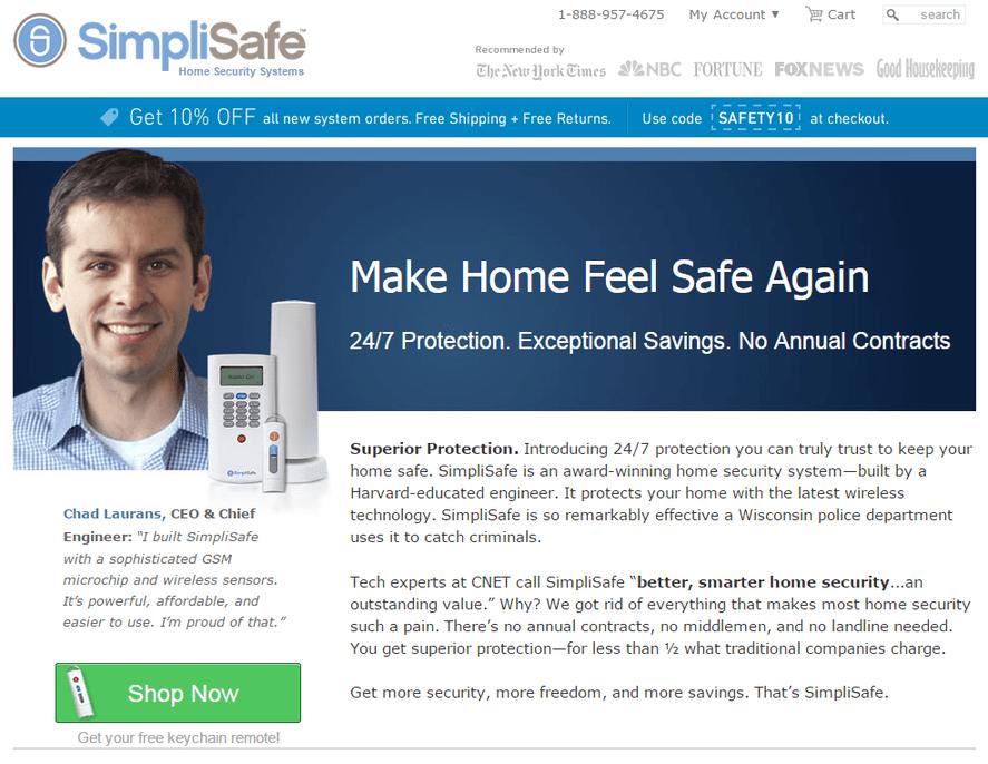 make home feel safe again