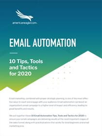 10 Email Automation Tactics and Tips for 2020 Whitepaper