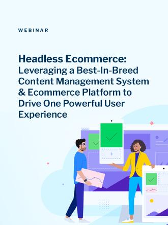 Progress DXperience Headless Ecommerce Webinar