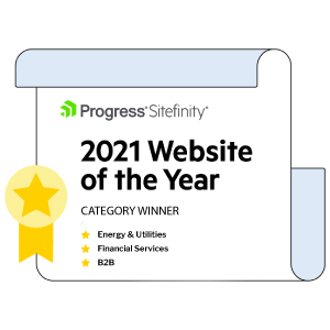 Sitefinity Website of the Year 2021
