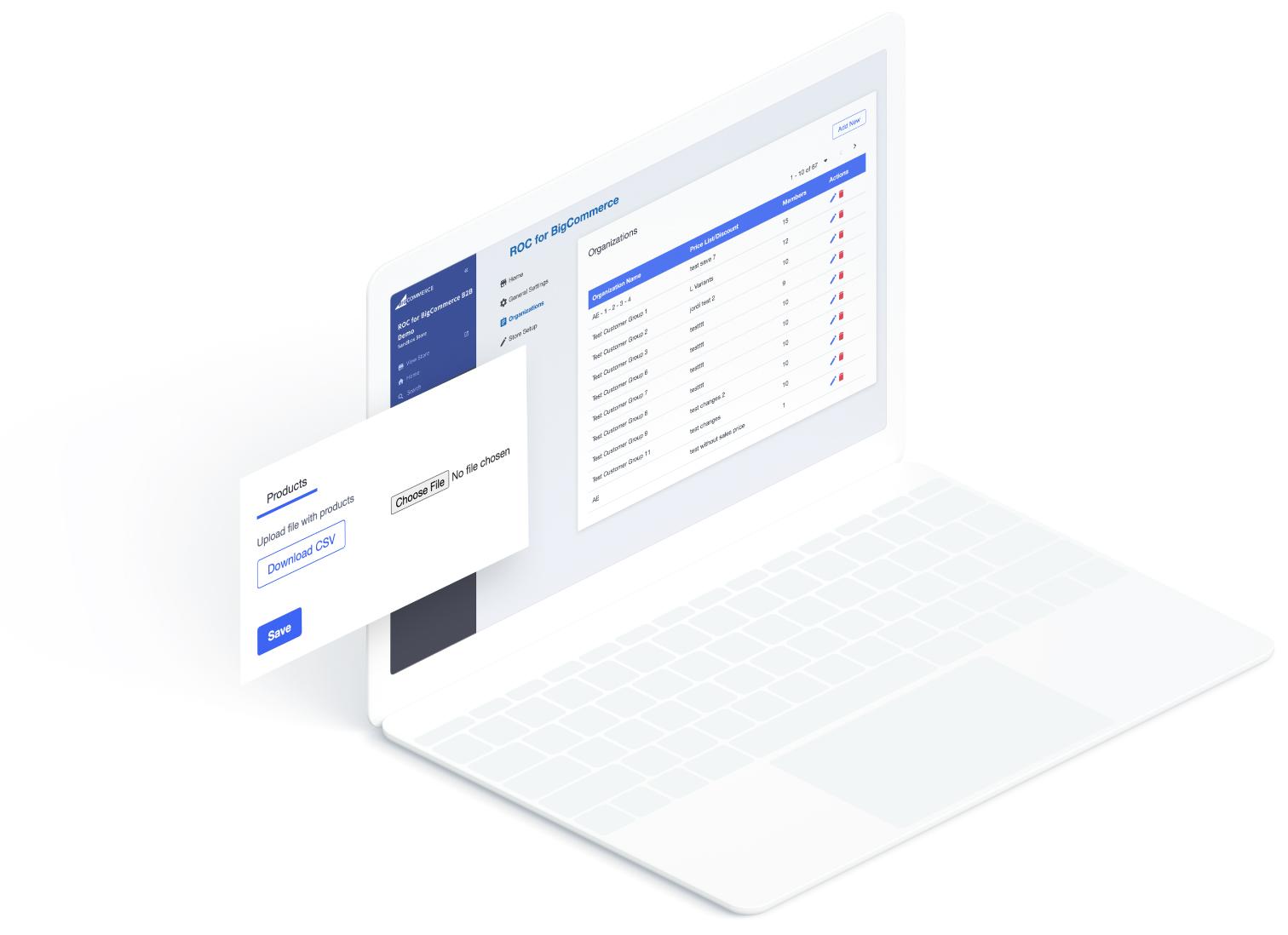 ROC for BigCommerce B2B Scenarios