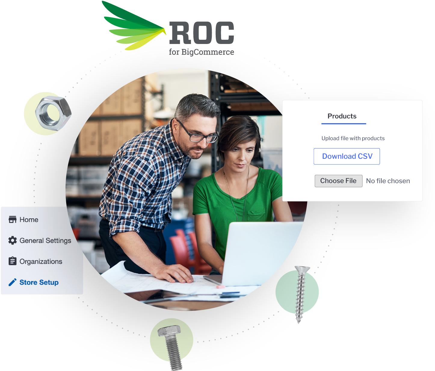 ROC for BigCommerce B2B