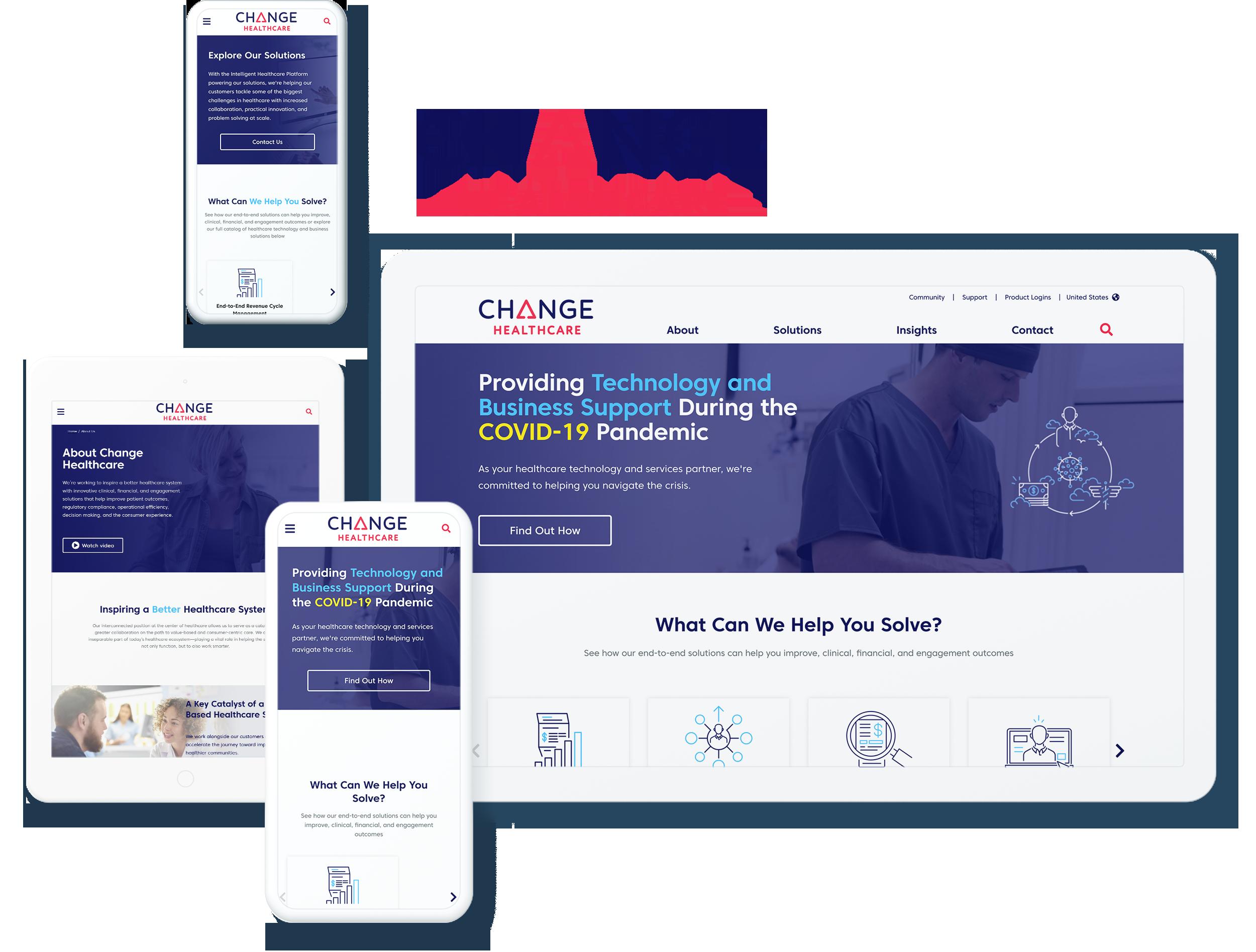 Change Healthcare Screens