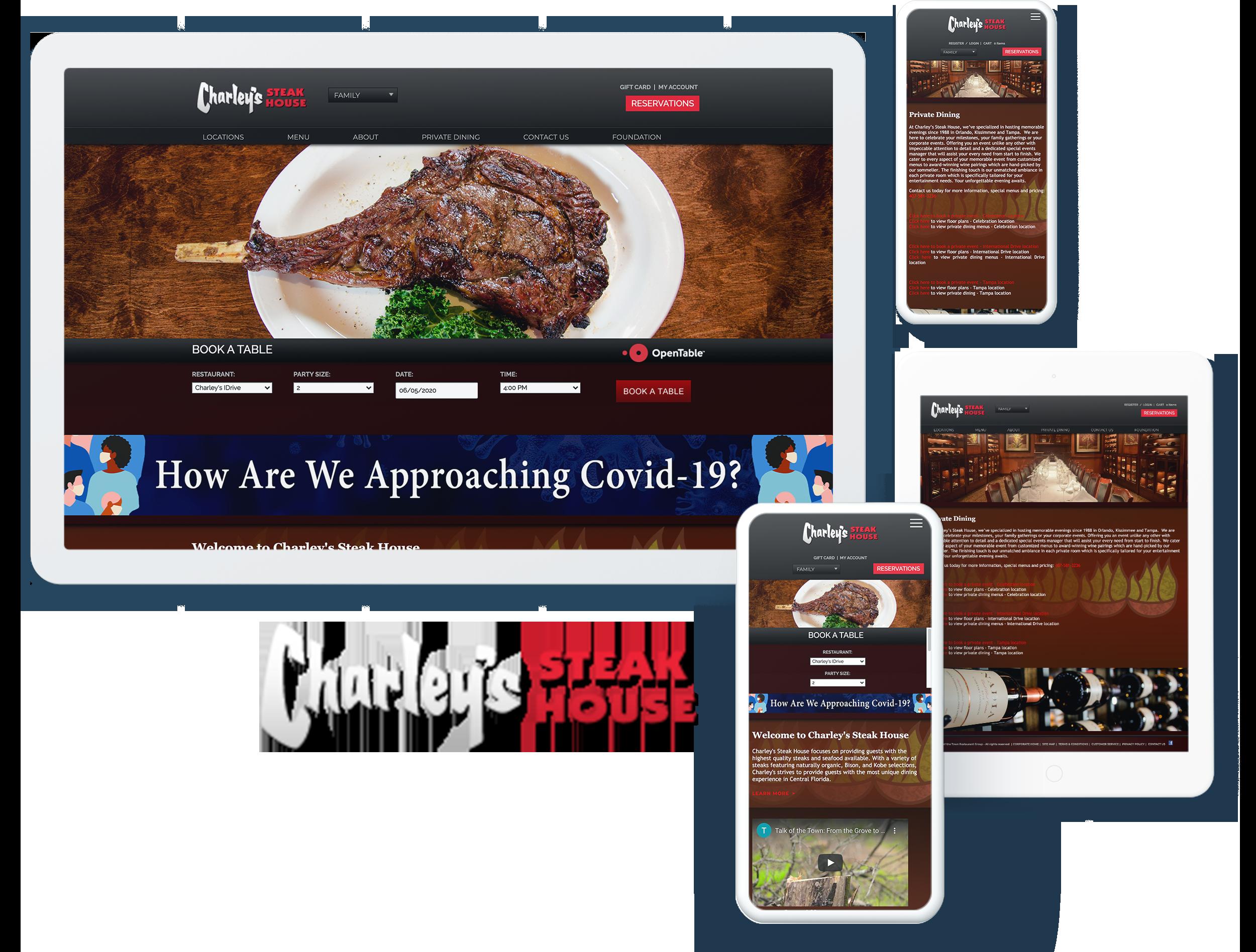 charleys steak house spotlight