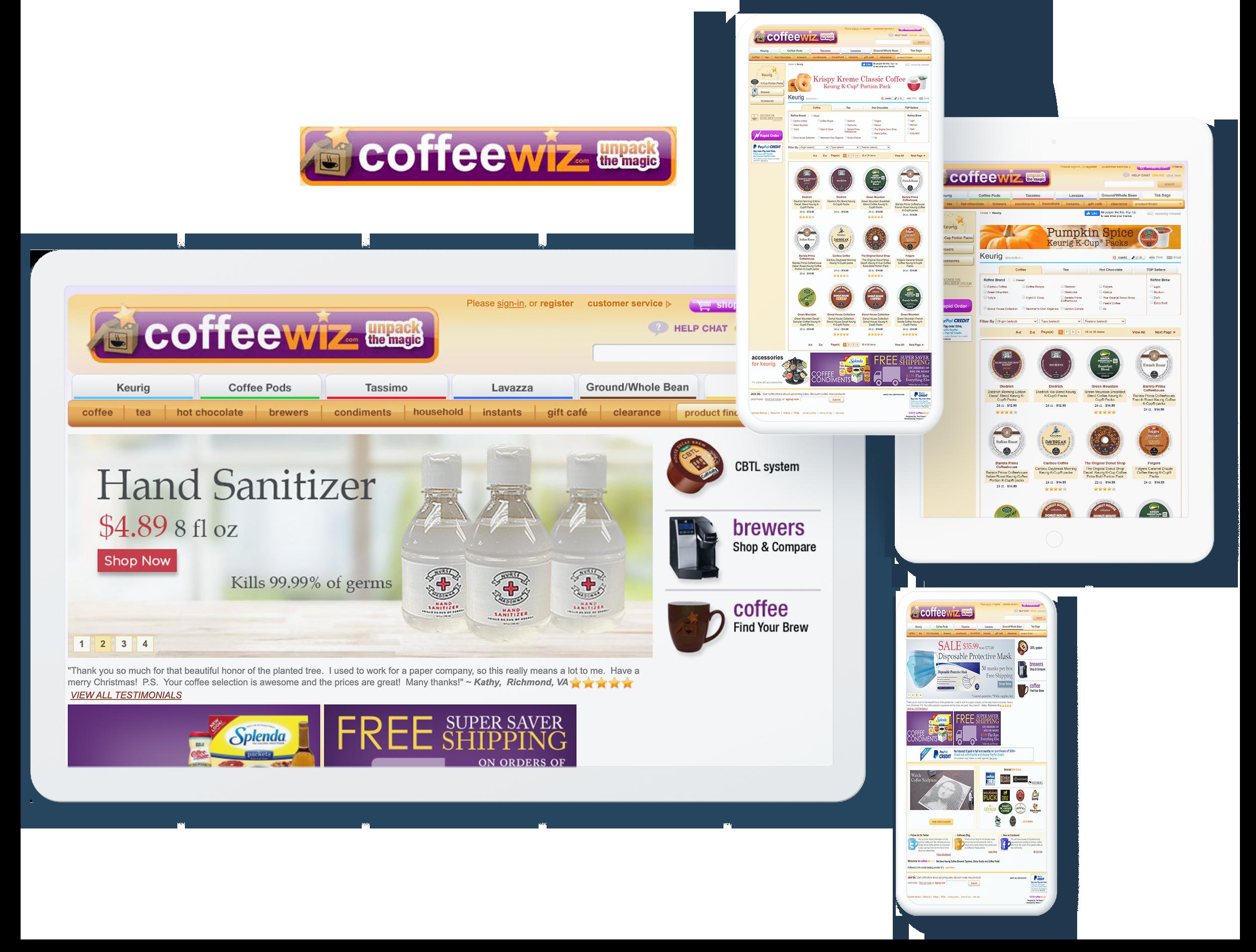 coffeewiz spotlight