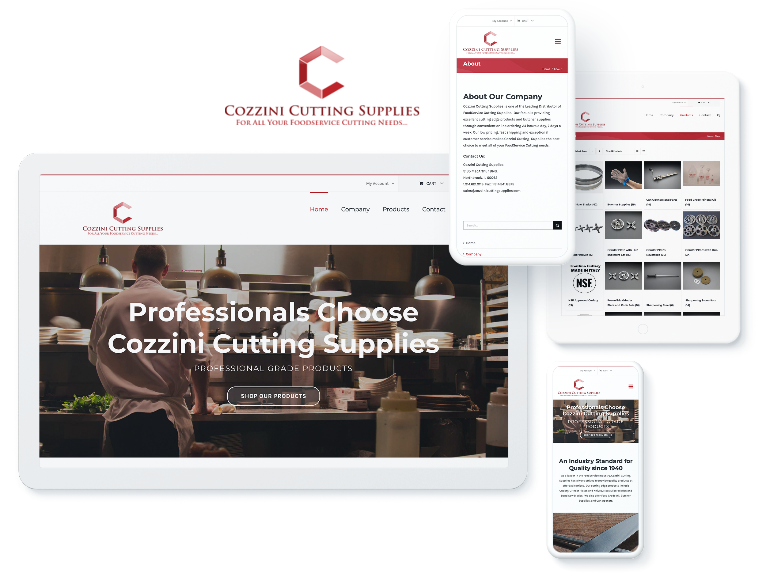 cozzini sutting supplies spotlight