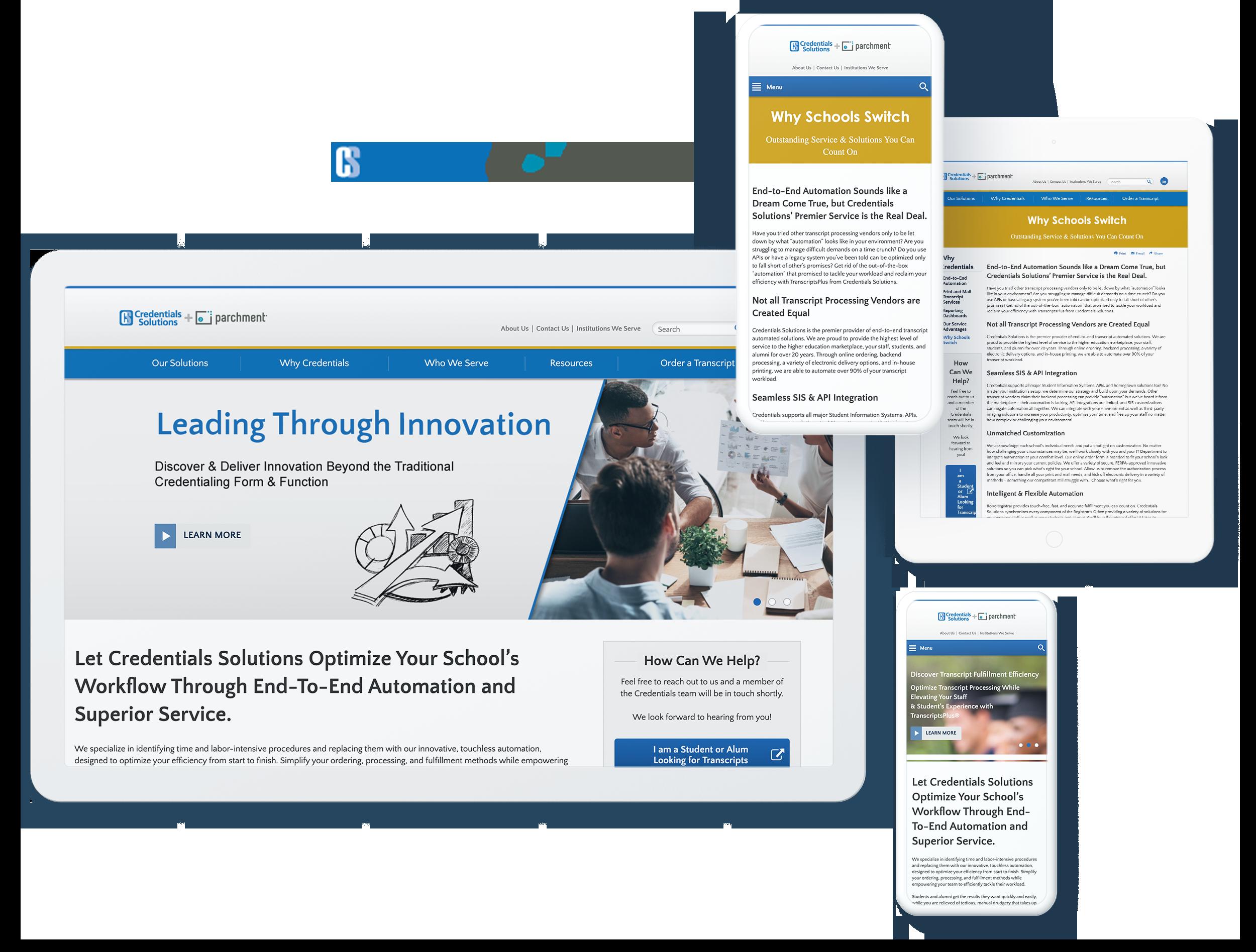 credential solutions spotlight