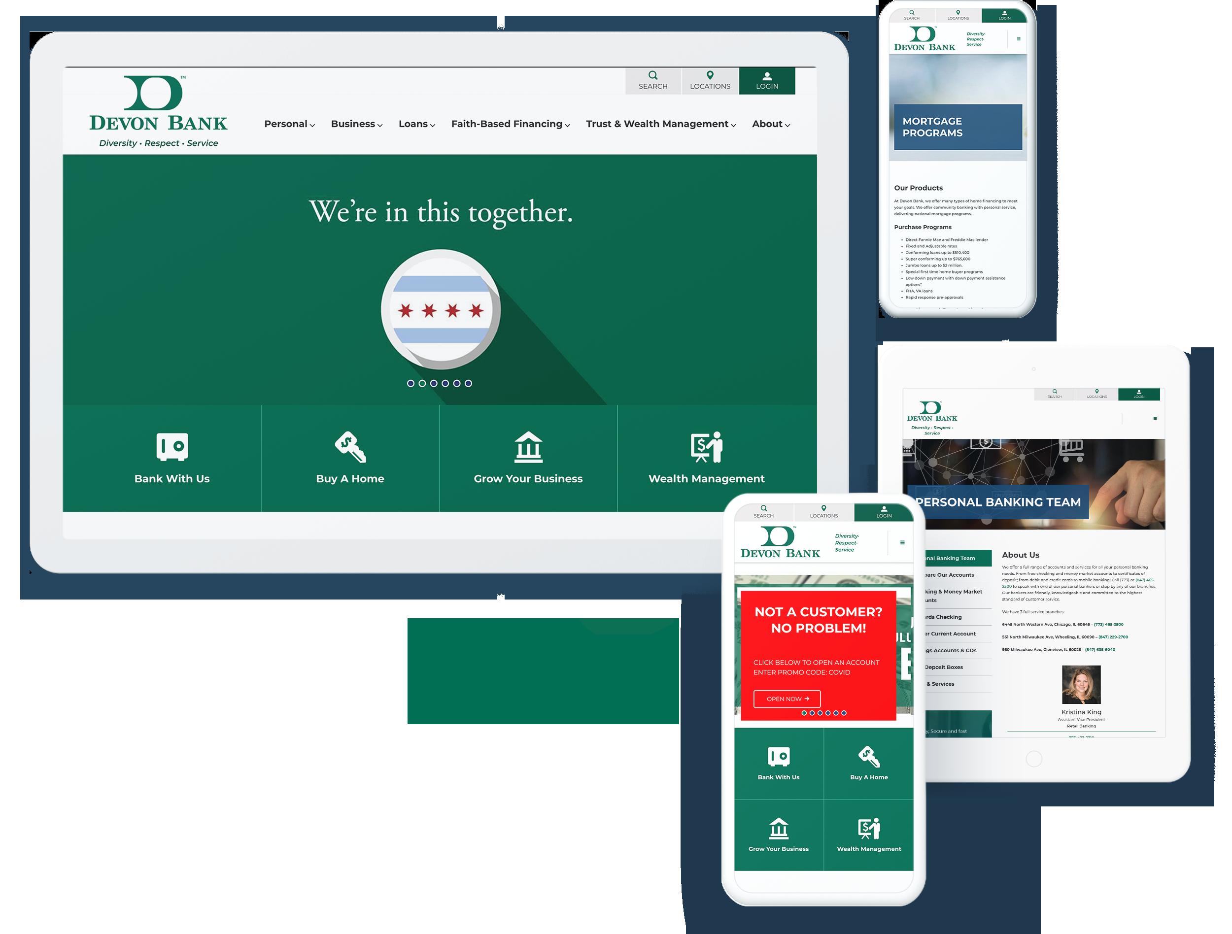 Devon Bank Screens