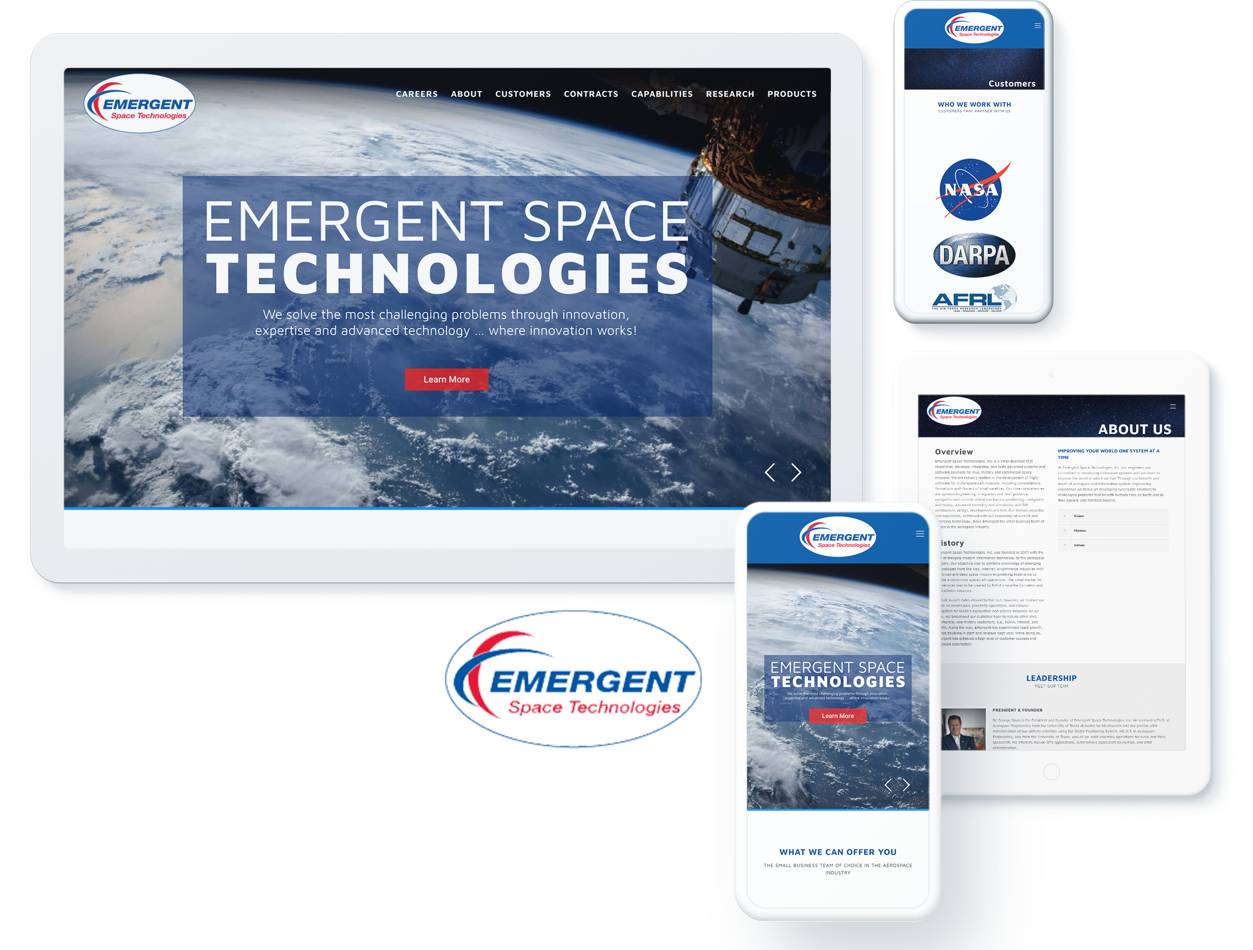Emergent Space Technologies Screens