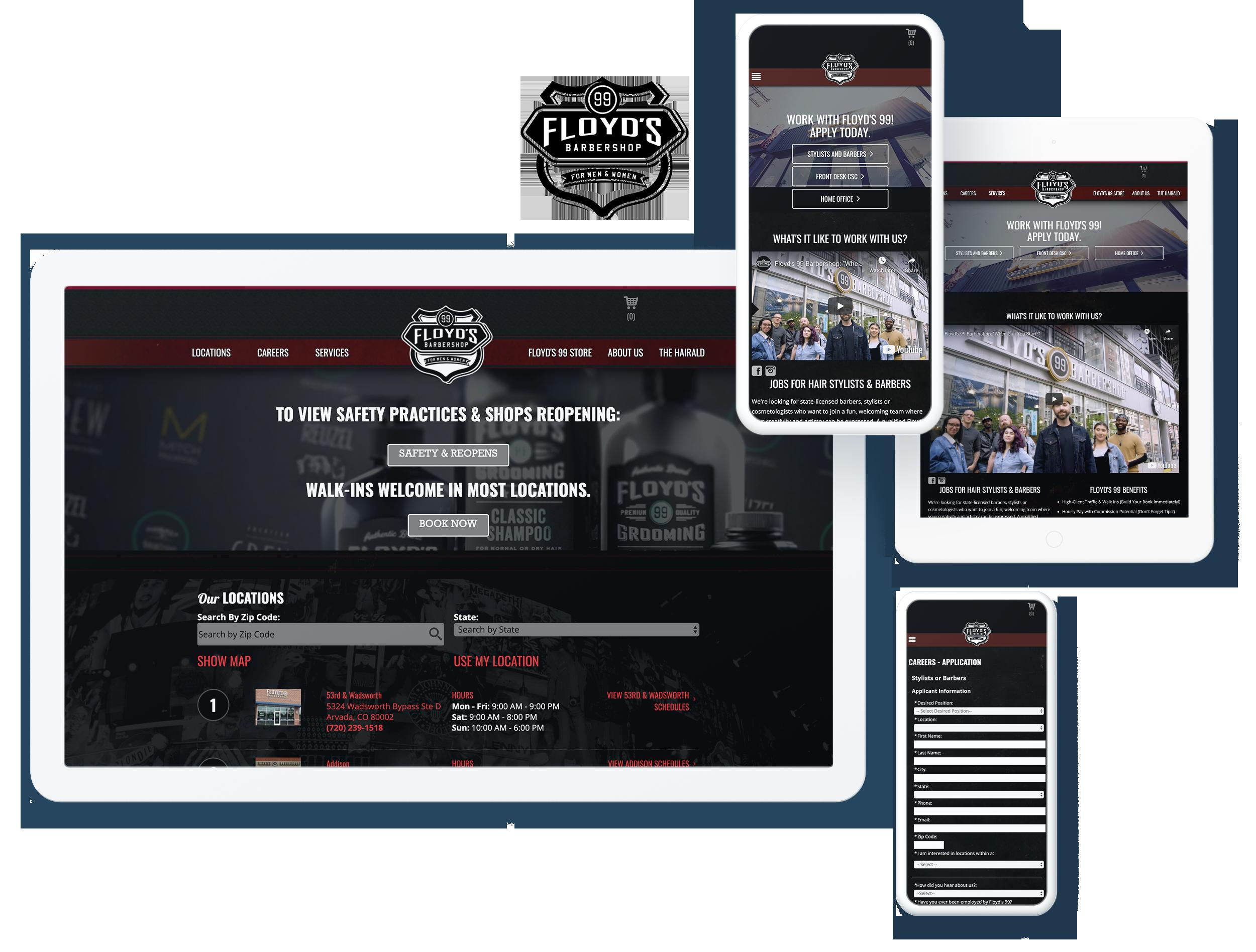 Floyds 99 Barbershop Screens