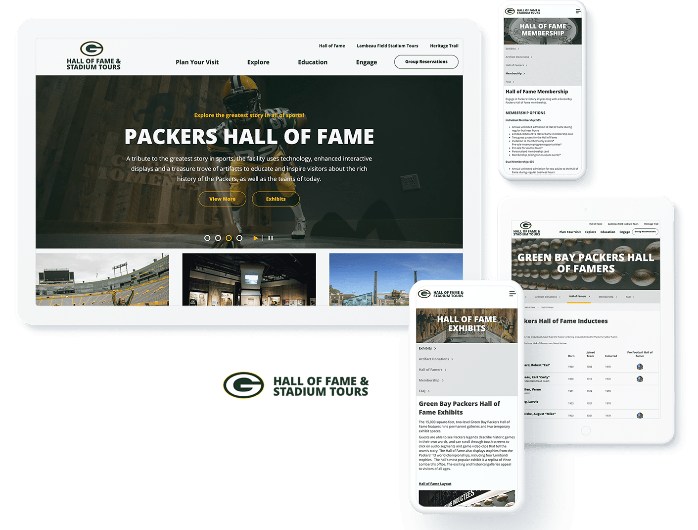 GB Packers Hall of Fame