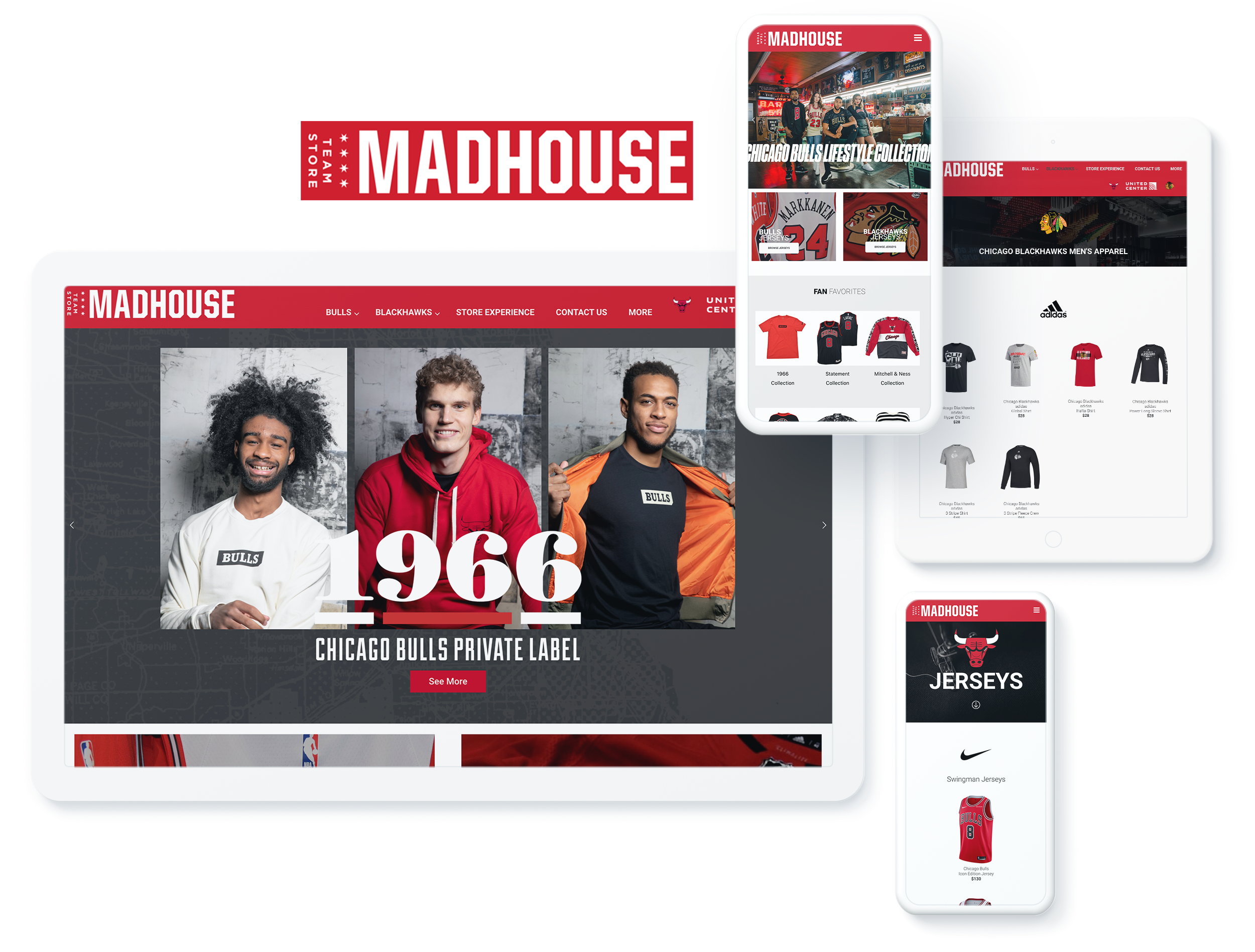 Madhouse Teamstore Spotlight