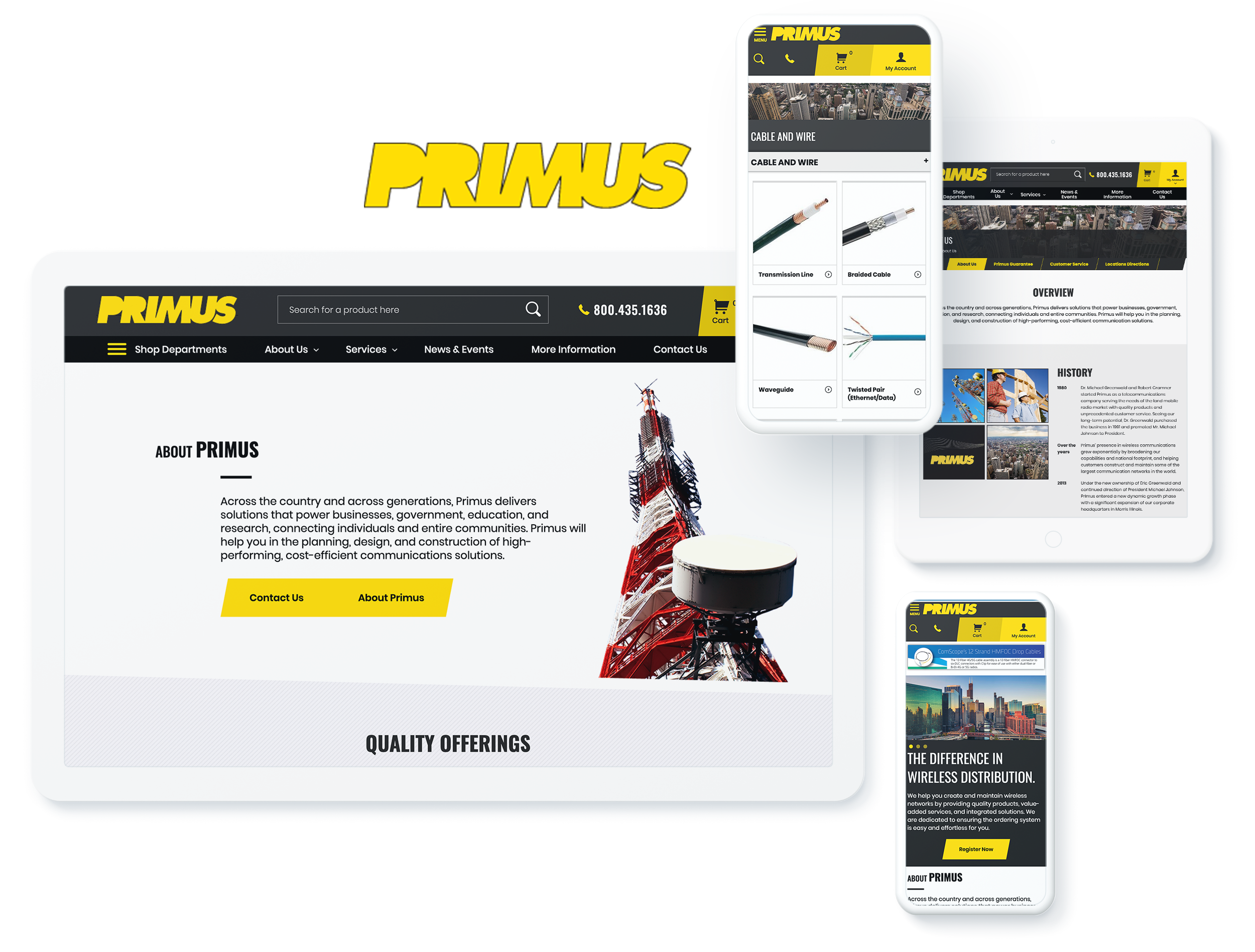 PRIMUS SCREENS