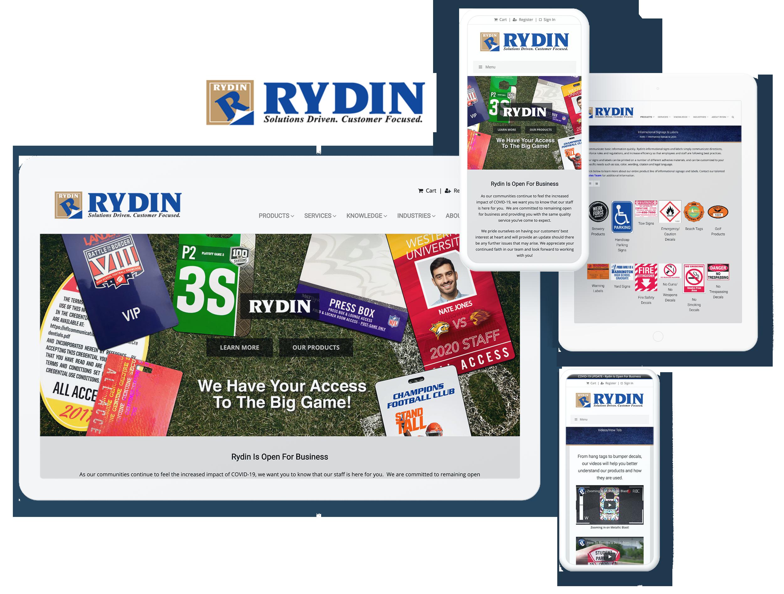 RYDIN SCREENS