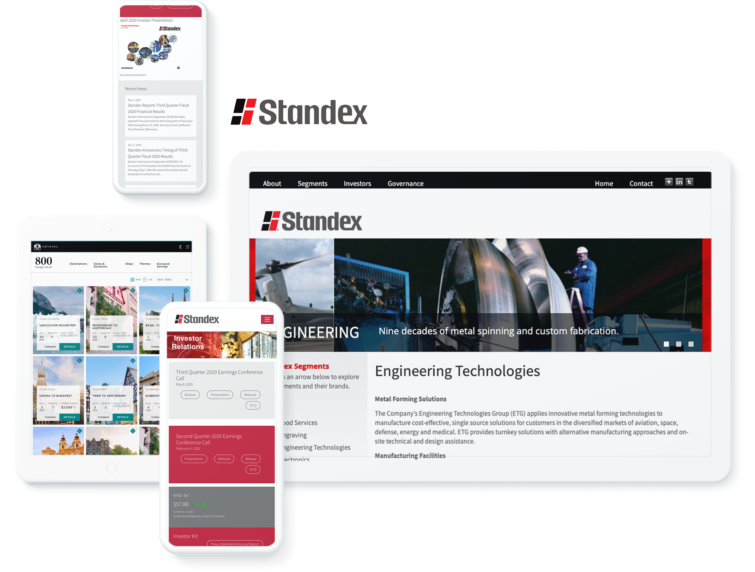 STANDEX SCREENS