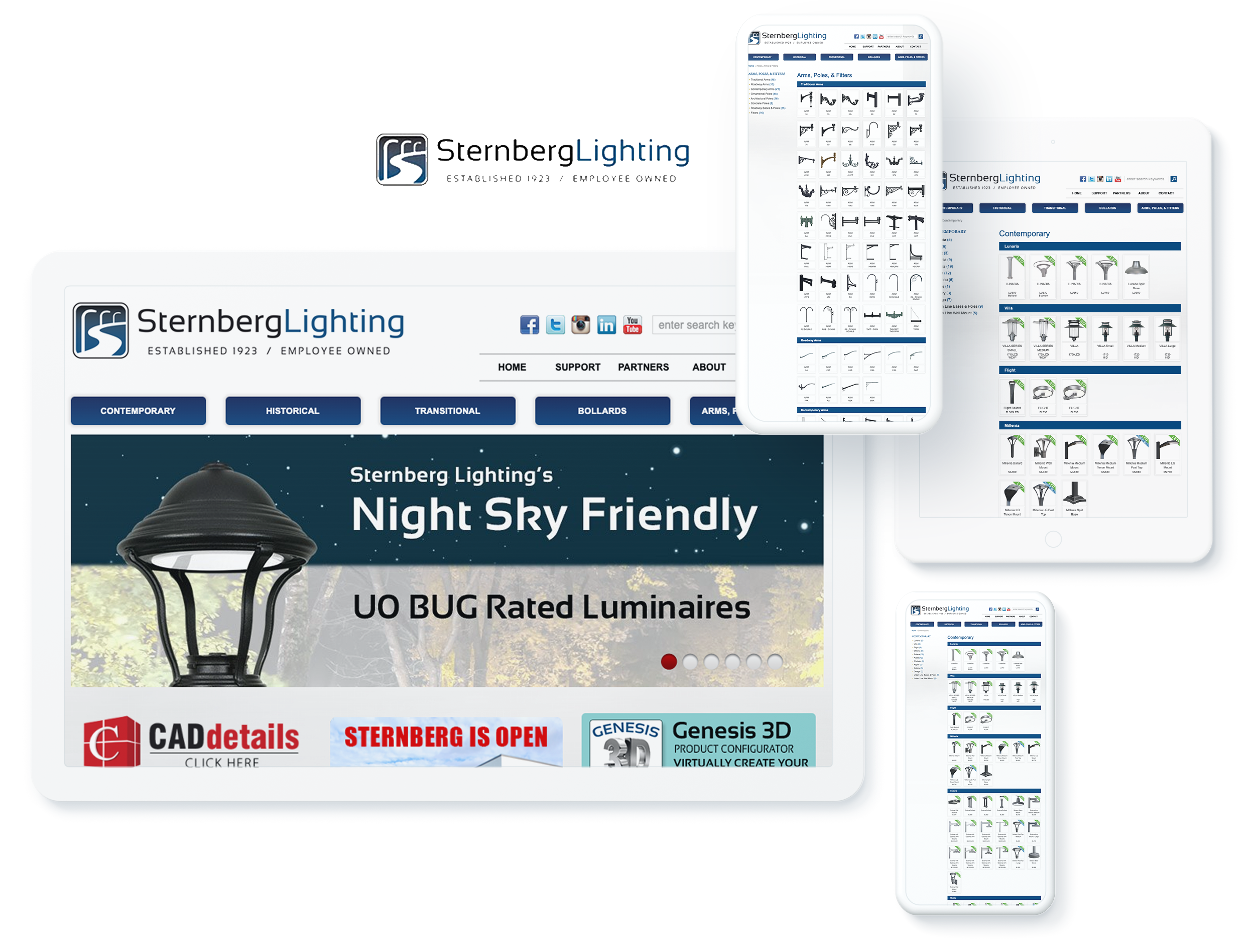 STERMBERG LIGHTNING  SCREENS