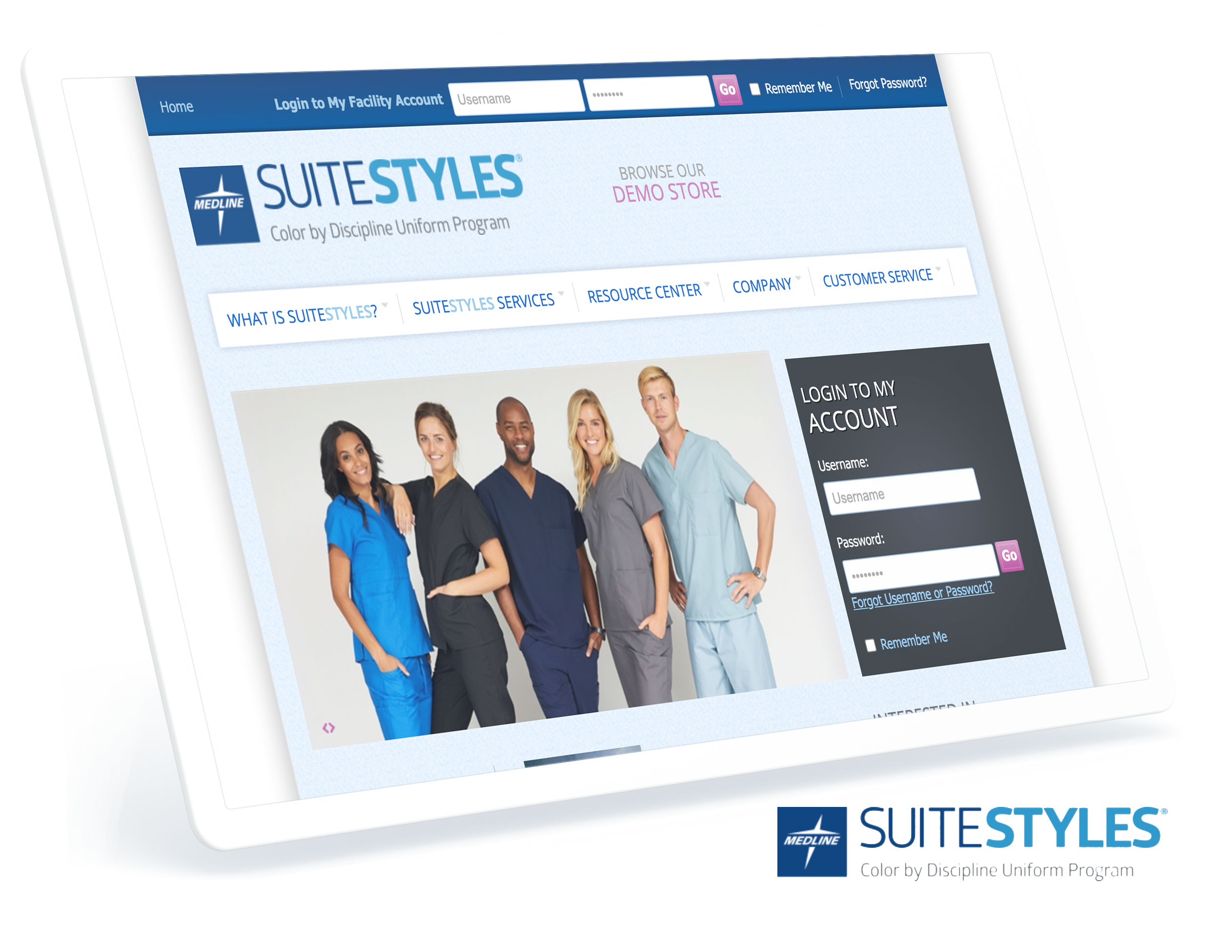 Suite Styles Screens