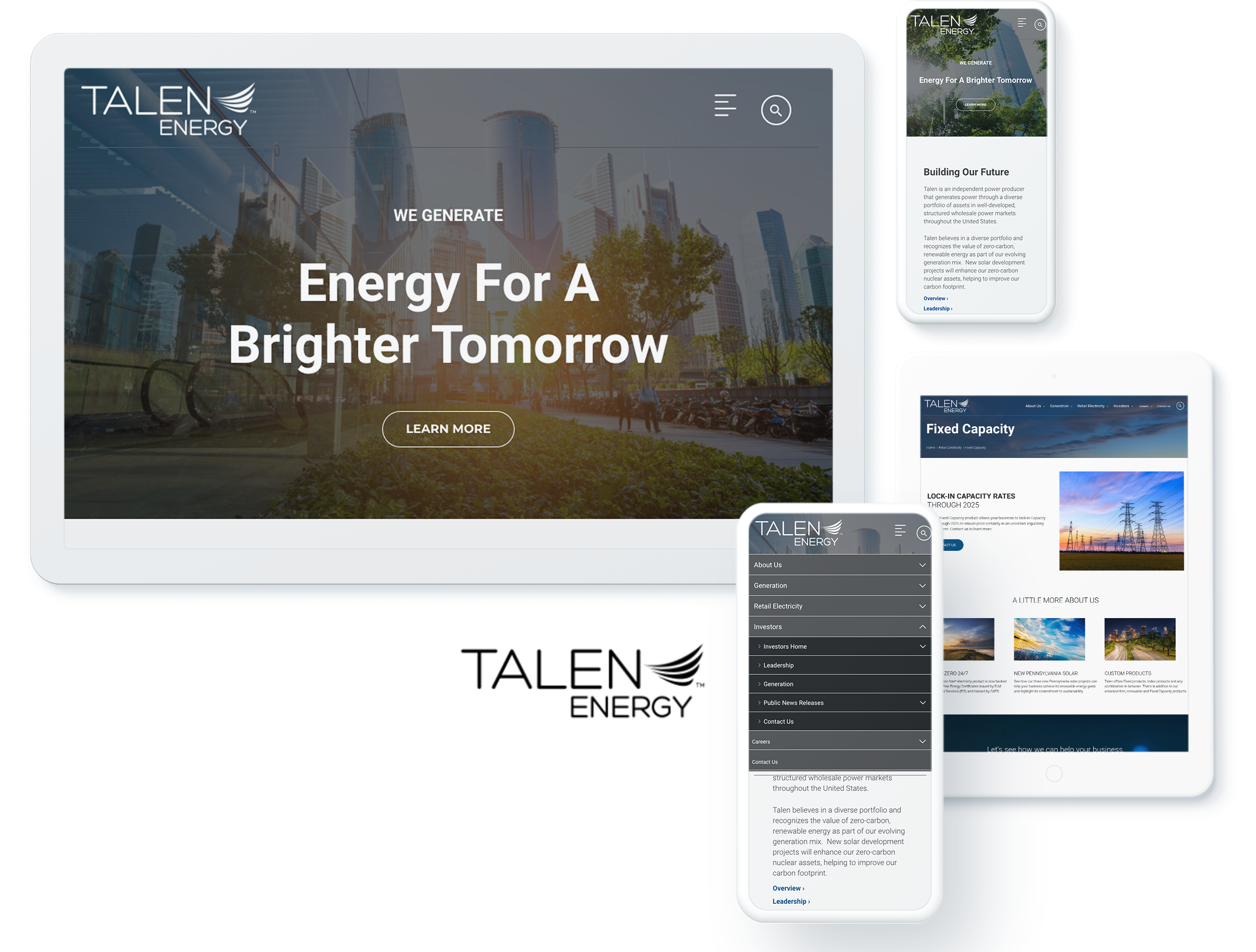 TALEN ENERGY SCREENS
