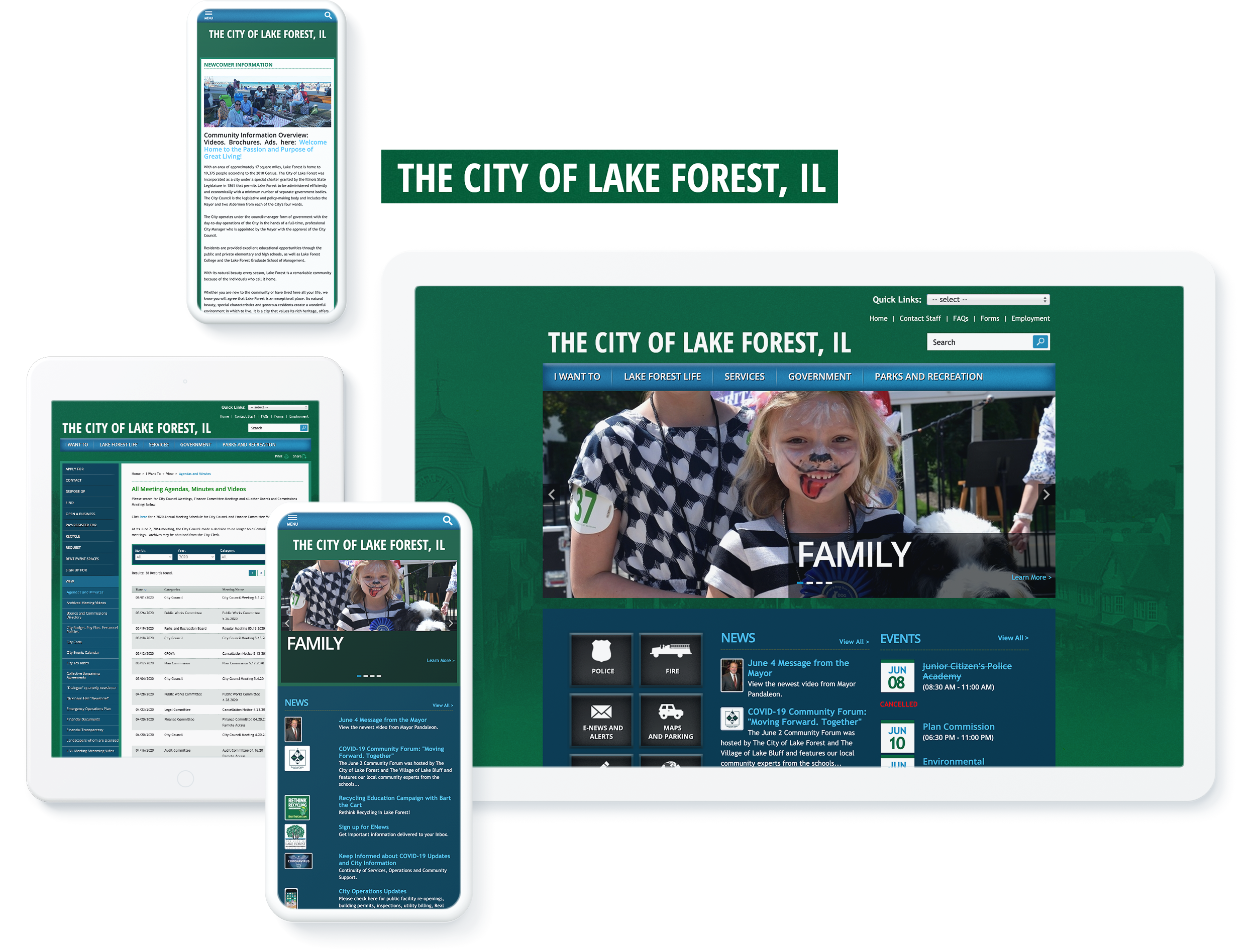 the city of lake forest spotlight