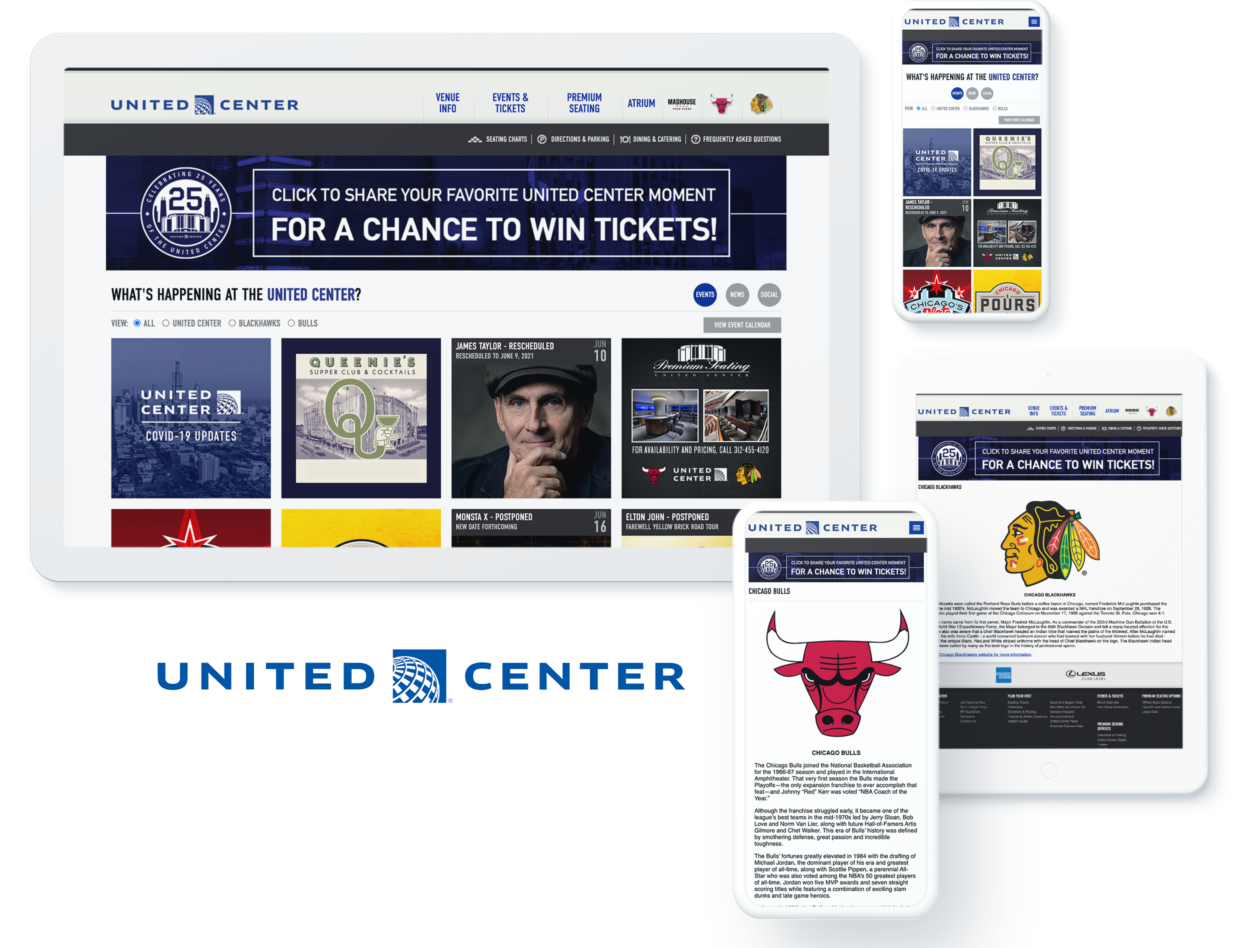 United Center Spotlight