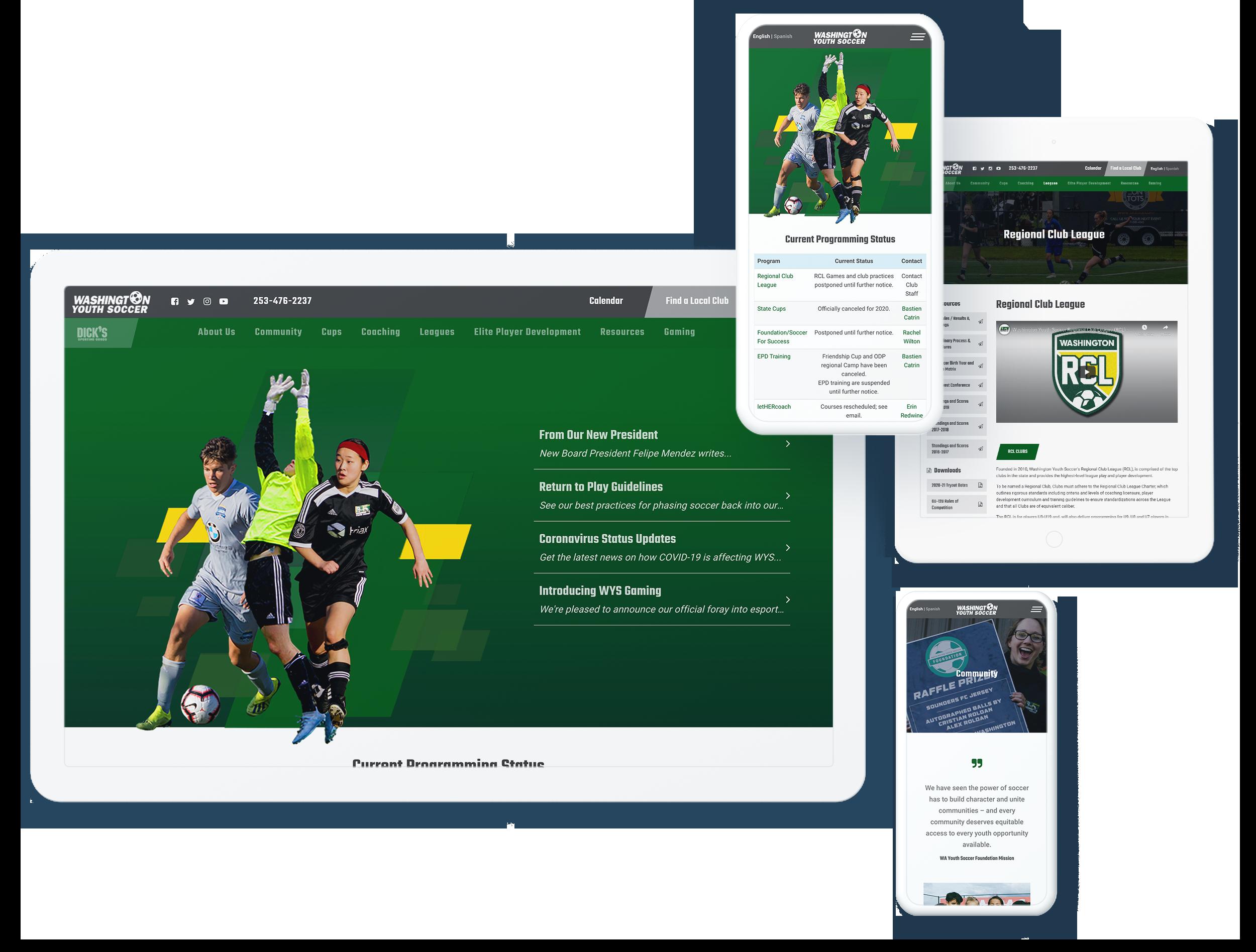 washington youth soccer spotlight