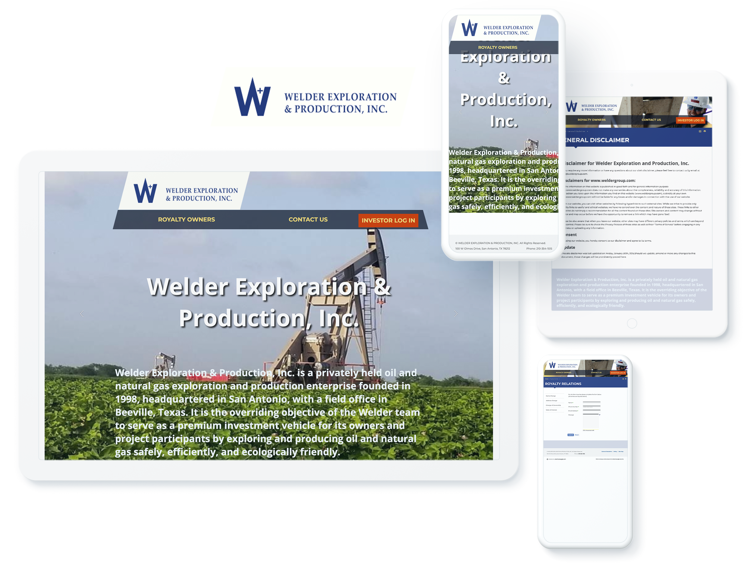 welder exploration and production spotlight