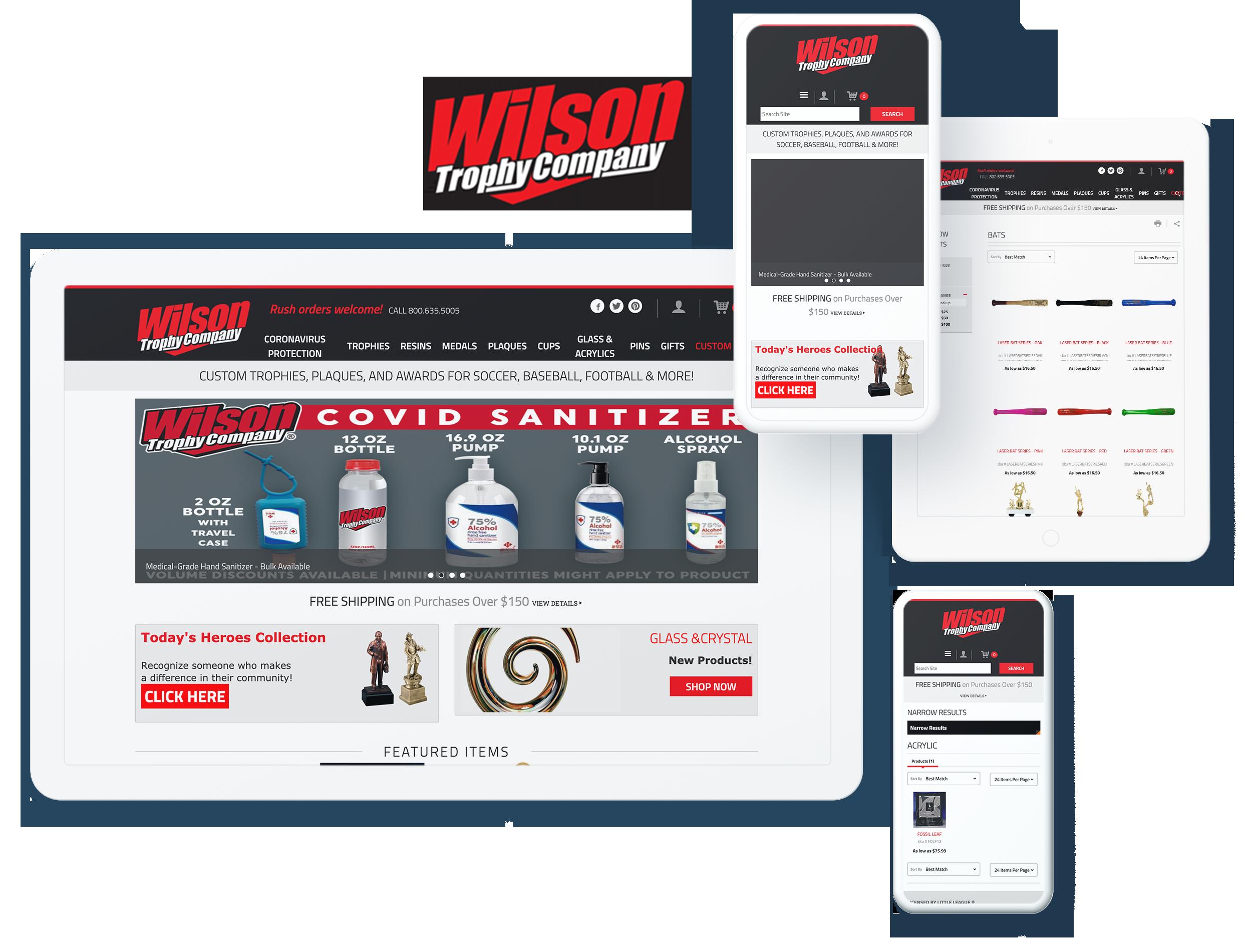 Wilson Trophy Screens